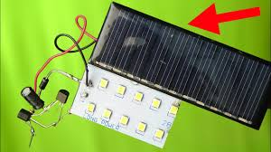 Solar Powered Automatic Lights How To Make Automatic On Off Rechargeable Street Light With Solar Panel