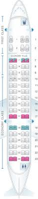 Crj7 Seating Chart Seat Map United Airlines Crj 700 Cr7 Seatmaestro