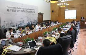 china experts discuss law applicable to peace operations international committee of the red cross