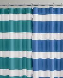 teal striped shower curtain. regatta striped shower curtain - garnet hill teal a