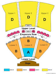 Caesars Atlantic City Venue Seating Chart Caesars Atlantic City Tickets And Caesars Atlantic City