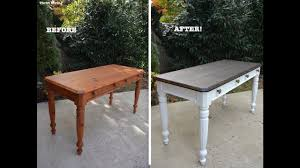 a 1980 s diy desk makeover using beyond paint and stain thrift diving you
