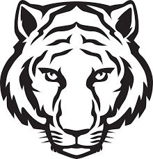 tiger face clipart black and white. Perfect Black Tiger Head Outline  Eyes Black And White Clipart Panda  Free  Images For Face Pinterest