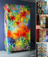 colorful painted furniture. Delighful Colorful 92 Funky Painted Furniture Ideas Tile Table How Cute Is In Colorful I