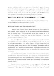 stress management in bpo 33 part