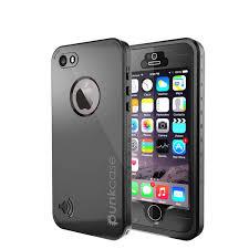 PUNKcase StudStar Black Apple iPhone 5S 5 Waterproof Case