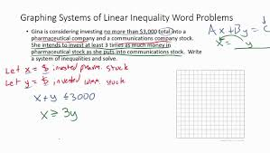 systems of inequality word problems example 2 you math worksheets pdf maxresde math inequalities worksheet worksheet