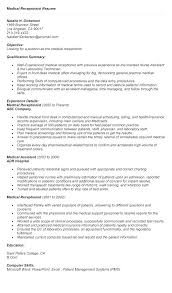 Receptionist Objective Resume Best Of Resume For Receptionist Examples Of Receptionist Resumes Medical