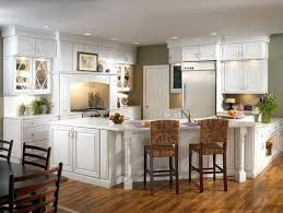 this coastal inspired kitchen with maple cabinetry in bright dove white is the heart of kraftmaid