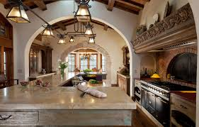 spanish colonial kitchens a little dark but love the light