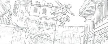 Luxury Assassins Creed Coloring Pages For Staying Between The Lines