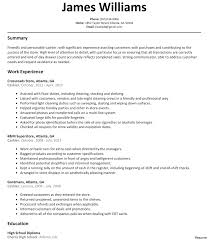 Crew Member Job Description For Resume