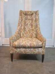 Vintage high back chair Adrian Pearsall Vintage High Back Chair Before Note The Tufted Loose Cushions Foter Vintage High Back Chair Ideas On Foter