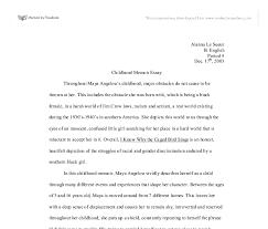 childhood memoir a angelou gcse religious studies  document image preview