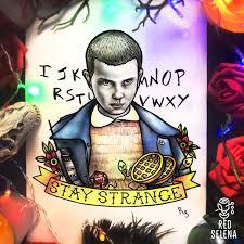 Stranger Things Poster Eleven Stranger Things Art Stay Strange