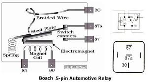 volt pin relay diagram image wiring diagram 12v relay wiring diagram 5 pin 12v relay wiring diagram 5 pin on 12 volt 5