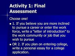 what s next thinking about life after high school ppt video 4 activity
