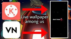 Free download Live Wallpaper Among Us ...