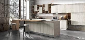 Rustic Italian Modern Kitchen Design With Wooden Cabinet Kitchen
