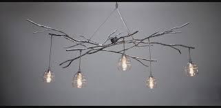 image of bodner branch chandelier image of fiber optic branch chandelier