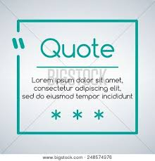 Chat Quote Square Vector Photo Free Trial Bigstock Awesome Quotes Of Illu