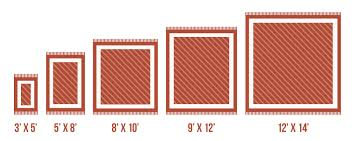 collection of diagram rug sizes chart more maps