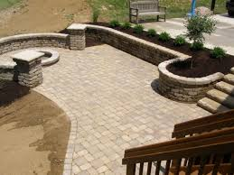 Paver Patio Design Ideas patio material ideas tiered patio with mixed paving materials design by geoff whiten plant flower stock