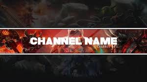 dota 2 themed youtube channel art banner free by neglius on