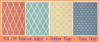 homedepot com 40 off nourison indoor outdoor area rugs free today only hip2save