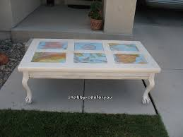 decoupage ideas for furniture. Shabby Coffee Table With Decoupage World Maps Ideas For Furniture