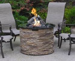 amazing patio furniture with fire pit