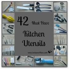 42 Must Have Kitchen Utensils Perfectly Printable Freebies