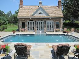 outdoor house pools. Modren Pools Outdoor Pool House With Stone In Pools