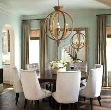 light colored dining room furniture round dining table dark with light chairs west 8 person light