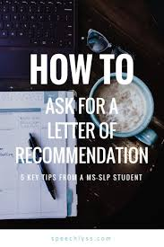 Tips For Asking For A Letter Of Recommendation How To Ask For A Letter Of Recommendation Millennial Bloggers