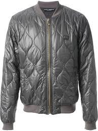 dolce gabbana quilted er jacket