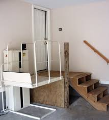 Wheelchair Ramp In Garage Low Cost Solutions For Making Your - Exterior wheelchair lifts