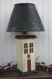 primitive lighting ideas. primitive lampscountry lampspunched tin lamp shadesrusty star lamps wooden lighting ideas d