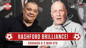Marcus Rashford Brilliance! Granada CF 0-2 Manchester United - YouTube