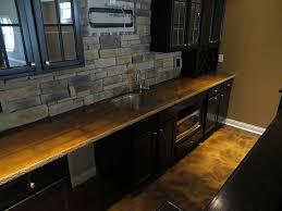 golden brown metallic countertop and floor cincinnati oh