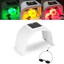 Led Light Therapy Machine 100 240v Pdt Led Light Photodynamic Facial Skin Rejuvenation Therapy Beauty Machine 7 Colors