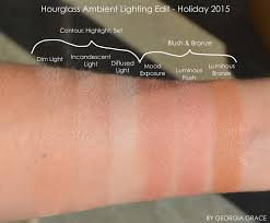 Ambient Lighting Palette Dupe Hourglass Ambient Lighting Edit Swatches Review Fotd By