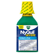Vicks Dayquil Severe Cold Flu Relief Liquid Vicks