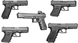 Perfect 10s 5 Pistols From Glocks 10mm Family