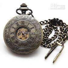 antique design men s hunter pocket watches stainless skeleton antique design men s hunter pocket watches stainless skeleton mechanical watch gentlemen accessories