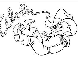 Alvin Cowboy Disegni Gratis Da Colorare Disegni Da Colorare E