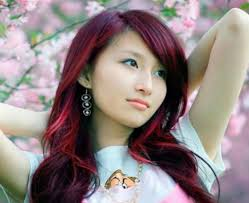 Asian Woman Hair Style highlights in dark brown hair for girl 2017 4940 by stevesalt.us