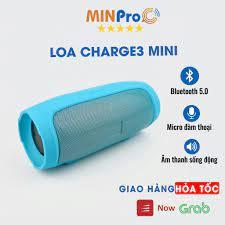 Loa bluetooth mini CHARGE 3 không dây,nghe nhạc,giá rẻ,âm thanh chất lượng  MINPRO - Loa Bluetooth Nhãn hàng No Brand