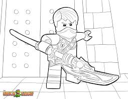 Ninjago Christmas Coloring Pages With Lego Page Jay Tournament Of