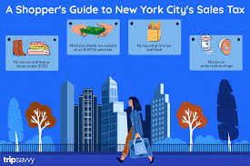 A Shoppers Guide To New York City Sales Tax